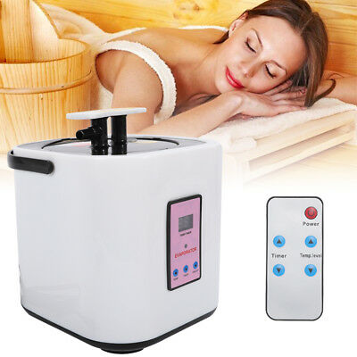 2L Sauna Steamer Pot For Portable Stainless Steel Steam Saunas Home 110V (Best Home Steamers)