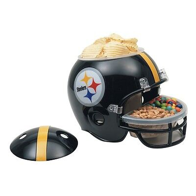 PITTSBURGH STEELERS FULL SIZE SNACK HELMET BRAND NEW FREE SHIPPING