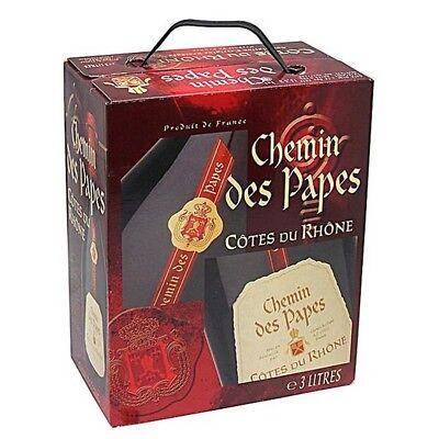 Chemin des Papes Syrah/ Grenanche Mourvedre Rotwein 3L Bag in Box BiB 13% vol