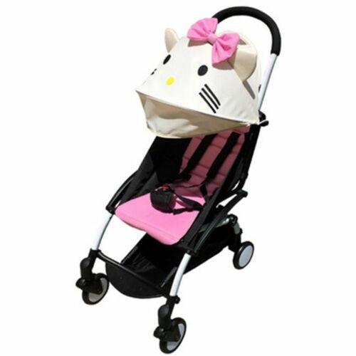 Stroller Accessories Sun Shade Cover Seat Infant Pram Liner Cushion Pad Sunshade