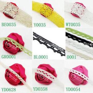 5-Yds-Cotton-lace-Trim-Dress-Lace-Trim-Cotton-Cluny-Lace-23-Style-Free-Shipping