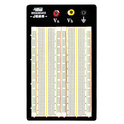 Jameco Valuepro Wbu-204-r 1660-point Solderless Breadboard 6.5lx4.3w
