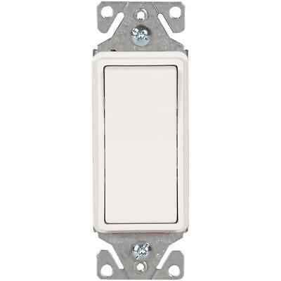 Cooper Rocker Wall Light Switch 1 Pole 20 Amp Qty 2 7622v-box