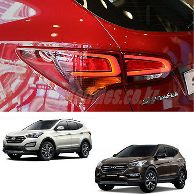 LED Tail Lights OEM Lamp For Hyundai Hyundai Santa Fe Sport 2013~2018