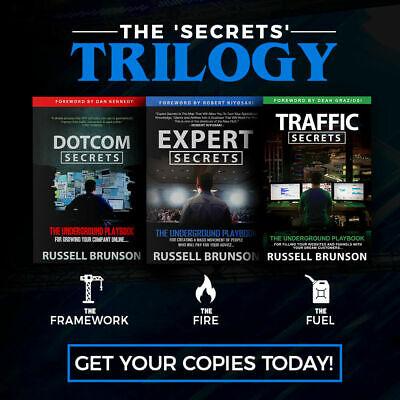 Traffic Secrets Expert Secrets Dotcom Secrets By Russell Brunson Audiobook