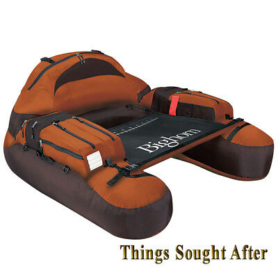BIGHORN FLOAT TUBE for Fly Fishing  Inflatable Personal Pontoon River Belly Boat