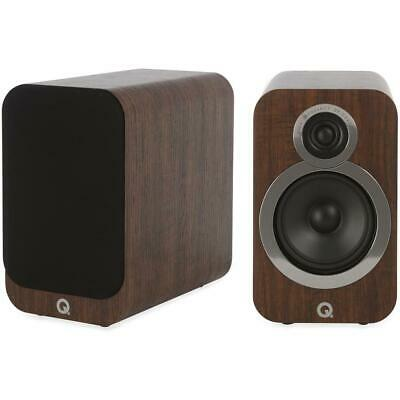 Q Acoustics 3020i Regal-Lautsprecher Walnuss Loudspeaker English Walnut Boxen Pa for sale  Shipping to Ireland