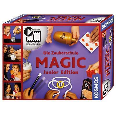 Kosmos 698201 - Zauberschule Magic - Junior Edition Spielzeug Zauberkasten