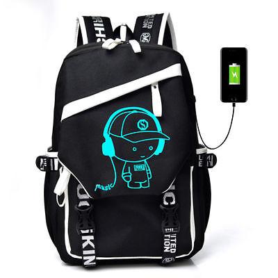 Luminous Anti Theft Backpack Bookbag Cool School Shoulder Bag for Boys Girl - Cool Backpacks Girls
