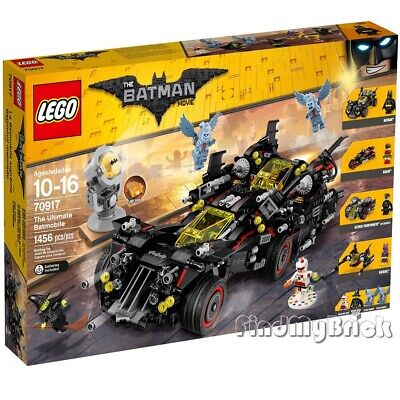 NEW The LEGO Batman Movie 70917 The Ultimate Batmobile Factory Sealed Brand NEW