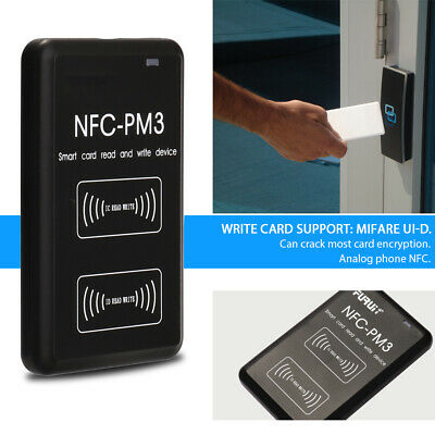 Nfc-pm5 Contactless Smart Reader Writer Rfi-d Copier Ic I-d Duplicator Us Q2x3