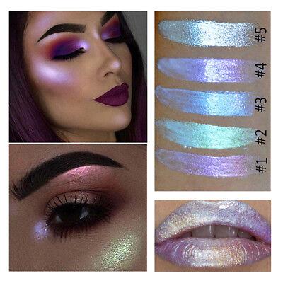 Glitzer HIGHLIGHT Creme Make-Up Gesicht Augen glänzend Lidschatten Wasserfest