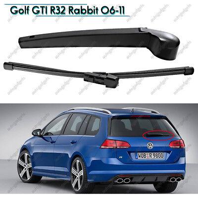 Rear Wiper Arm & Blade Fit VW 06-09 Golf GTI R32 Rabbit 06-11 Passat Wagon 2010 Volkswagen Passat Wagon