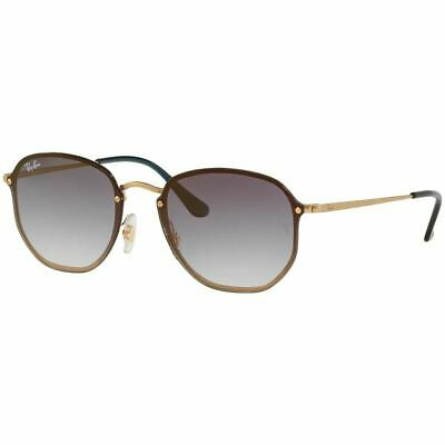 Ray Ban Blaze Hexagonal Sunglasses w/Blue Gradient Mirrored Lens RB3579N (Blue Gradient)