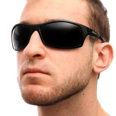 Nitrogen POLARIZED Sunglasses Mens Sports Wrap Fishing Golfing Driving (Mens Driving Glasses)