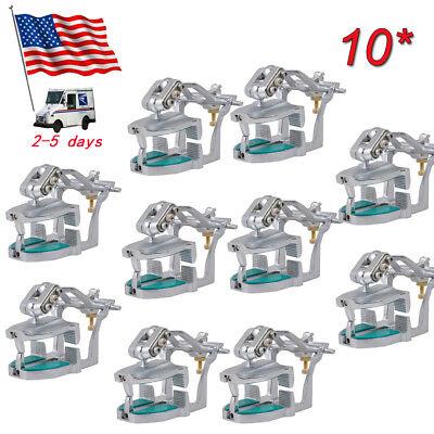 10x Sale Dental Lab Equipment Adjustable Magnetic Articulator Lock Models Ce