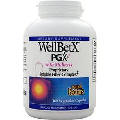Natural Factors WellBetX PGX w/ Mulberry - 180 Caps