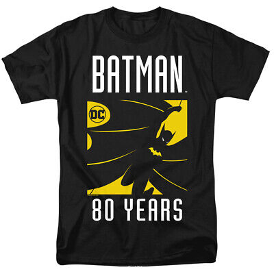 Batman 80th Anniversary Silhouette DC Comics Officially Licensed Adult T-Shirt](Adult Batman Shirt)