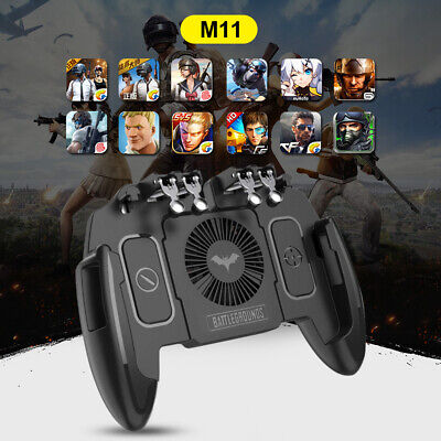 PUBG Mobile Phone Gaming Controller Gamepad Cooling Fan Joystick For IOS Android