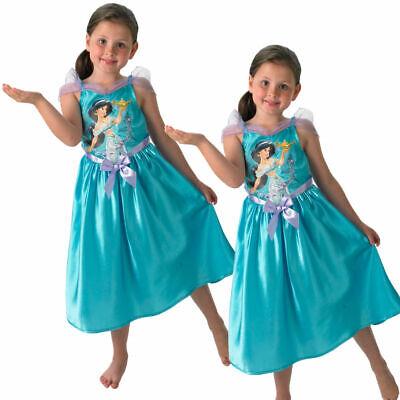 Märchenstunde Jasmin Mädchen Kostüm Disney Prinzessin Kostüm Cosplay Alter 3-8