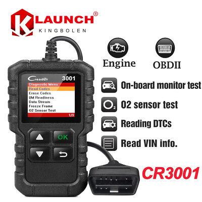 OBDII Function Code Reader Scanner OBD2 EOBD Diagnostic tool Launch CReader 3001