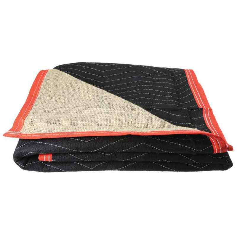 Moving Blankets- Burlap Moving Pads - 4 Pack