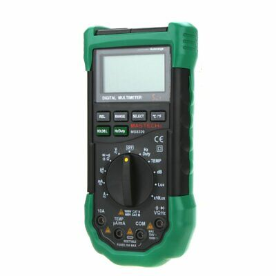 Mastech Ms8229 Auto Range Dmm Digital Multimeters Temperature Humidity Tester