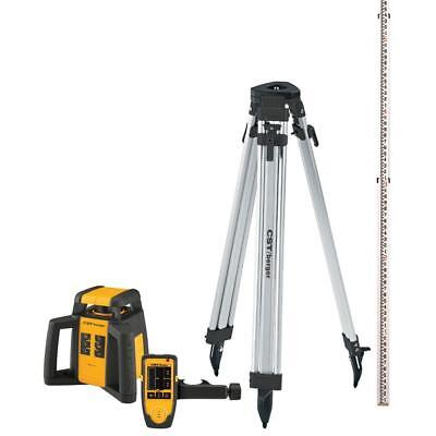 Demo - Cstberger Rl25hck - Rotary Laser Level Complete Package