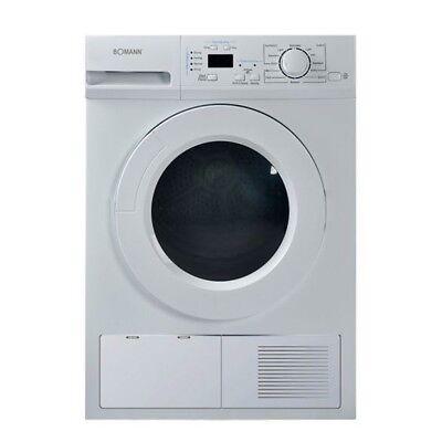 Kondens Wäsche Trockner 8kg 12 Trockenprogramme LED Display Bomann WTK 5020