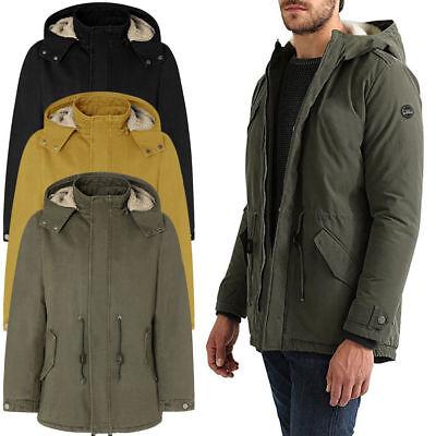 Cappotto uomo TWIG Vintage Parka L250 cappuccio con pelliccia giubbotto giacca
