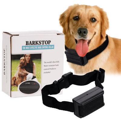 New Anti Bark No Barking Tone Shock Control Training Collar for Small Medium Dog
