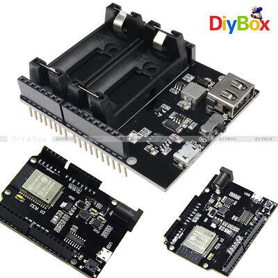 Wifi Bluetooth Devolopment Board Esp32 Ch340 Esp8266 16340 Battery Power Shield