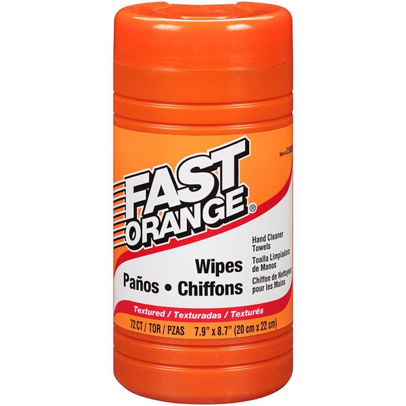 Permatex 25051 Fast Orange Heavy Duty Hand Cleaner Wipes 75-Piece