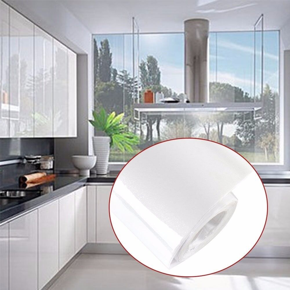 2.55Mx67cm New D-C-Fix® Original Deco Glossy White Self-Adhesive ...