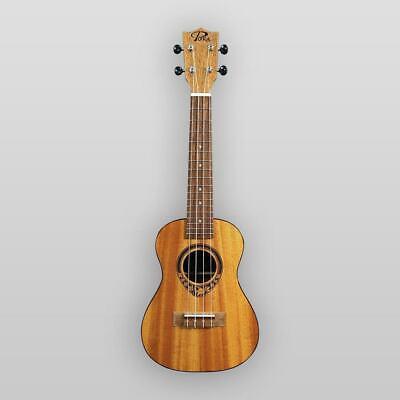 Puka Model PK-TFC Tropical Fish Rosette Natural Satin Finish Concert Ukulele   comprar usado  Enviando para Brazil