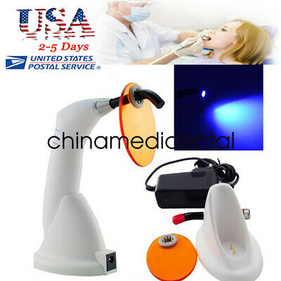 White -gun Type Dental 10w Wireless Cordless Led Curing Light Lamp 2000mw-fdace