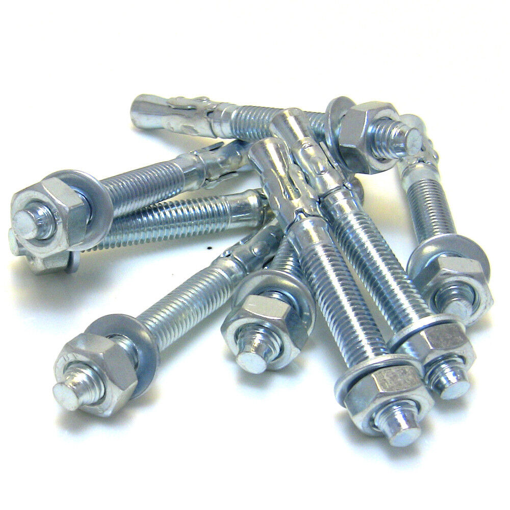 Stahlanker Schwerlastanker Schwerlastdübel Keilanker Bolzenanker verzinkt M8-M12