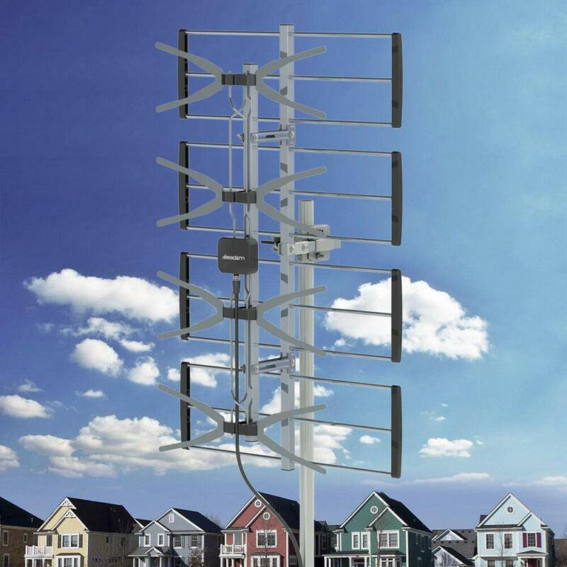 Digital Signal 100 Mile HDTV 1080p Outdoor HD TV Antenna Digital UHF Leadzm