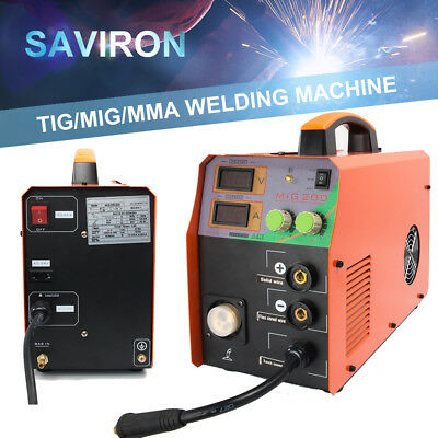 200amp Mig Igbt Welder Tig Welding Machine Mag No Gas Portable Dc Weld Inverter
