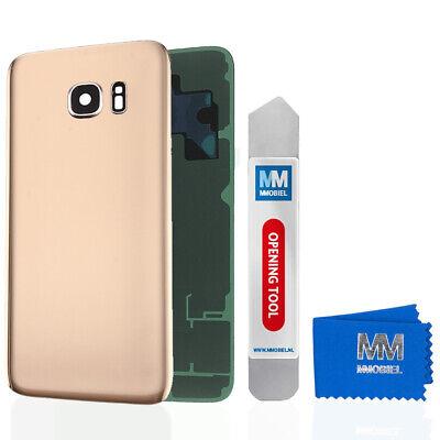Akkudeckel mit Linse für Samsung Galaxy S7 G930 (GOLD) Backcover Gold Pan