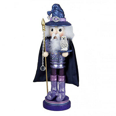 "[Kurt Adler Hollywood Nutcracker - Wizard Christmas Nutcracker 18"" C0170 New</Title]"