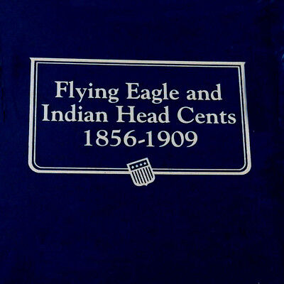 New Whitman OFFICIAL CLASSIC INDIAN&FLYING EAGLE CENTS 1856-1909 Coin Album#9111