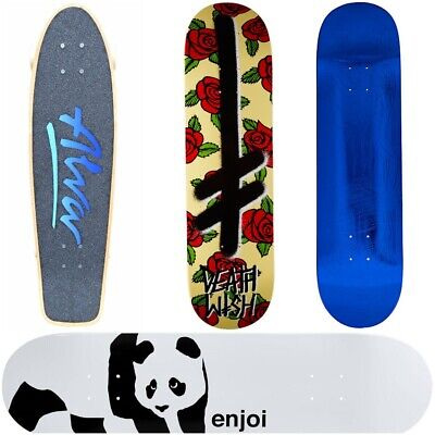 Brand New Skateboard Decks (Various Sizes and Styles)