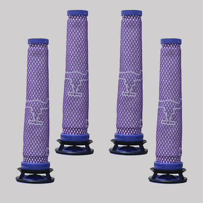 4PC Vacuum Cleaner Accessories Pre Filter For Dyson DC58 DC59 DC61 DC62 DC74 V6
