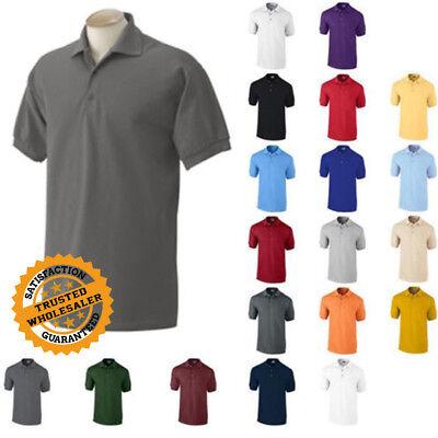 Gildan Dryblend Mens Polo Shirt Jersey T Shirt All Colors 8800 Size S 5Xl Unifor