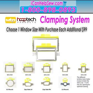 Brother Embroidery Hoop Small Clamp System1 For PRS-100 BabyLock Alliance