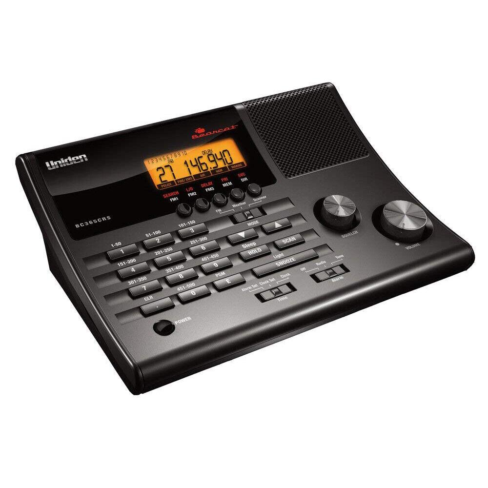 FM Radio 500 Police Scanner Digital Uniden Emergency Alert S