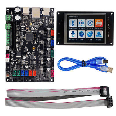 MKS SBASE V1.3 Controller Board Kit +3.2'' LCD Touch Screen Display  3D Printer