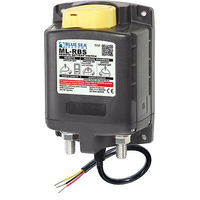 Blue Sea 7717 ML-RBS Remote Battery Switch w/Manual Control Auto-Release - 24V