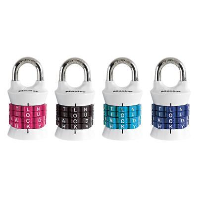 Master Lock Personalized Letter Combination Padlock   1535Dwd
